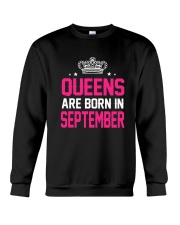 Queens Are Born In September Tanktop Crewneck Sweatshirt thumbnail