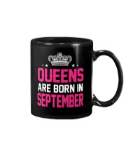 Queens Are Born In September Tanktop Mug tile