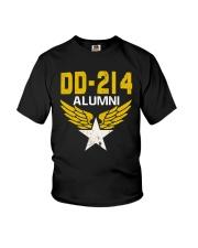 DD-214 Alumni Military Tee Shirt Youth T-Shirt thumbnail