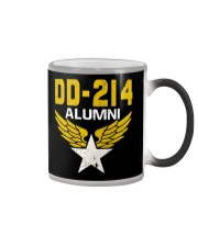 DD-214 Alumni Military Tee Shirt Color Changing Mug thumbnail