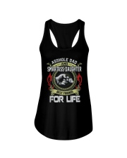 Asshole Dad Best Friend Tee Shirt Ladies Flowy Tank thumbnail