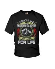 Asshole Dad Best Friend Tee Shirt Youth T-Shirt thumbnail