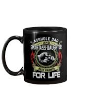 Asshole Dad Best Friend Tee Shirt Mug back