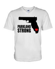 parkland strong T-Shirt V-Neck T-Shirt thumbnail