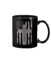 Thin Silver Line Corrections Officer Prayer Shirt Mug thumbnail