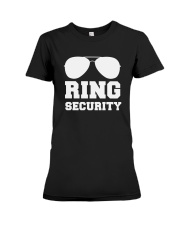 Ring Security Wedding Party T-Shirt Premium Fit Ladies Tee thumbnail