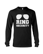 Ring Security Wedding Party T-Shirt Long Sleeve Tee thumbnail