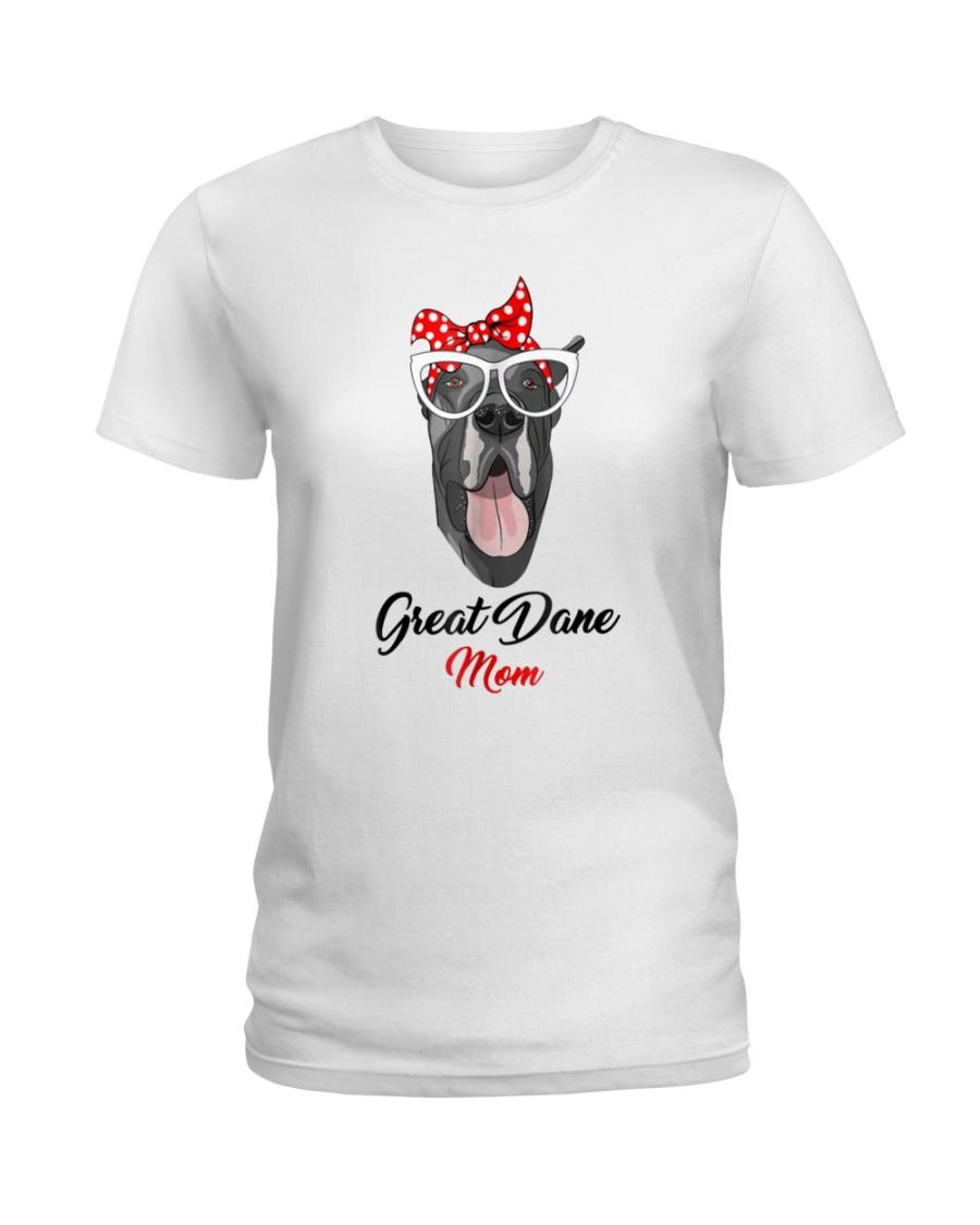 Great Dane Mom 2018 T-Shirt Ladies T-Shirt