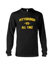 Pittsburgh Vs All Yinz Tee Shirt Long Sleeve Tee thumbnail