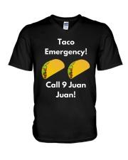 Taco Emergency Call 9 Juan Juan Shirt V-Neck T-Shirt thumbnail