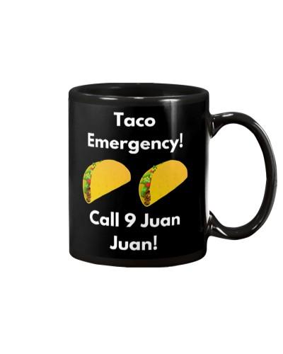 Taco Emergency Call 9 Juan Juan Shirt