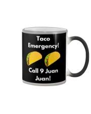 Taco Emergency Call 9 Juan Juan Shirt Color Changing Mug thumbnail