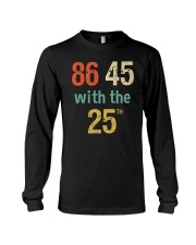 86 45 with the 25th Retro Vintage Shirt Long Sleeve Tee thumbnail