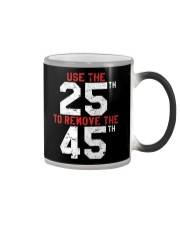 86 45 with the 25th Retro Vintage Shirt Color Changing Mug thumbnail