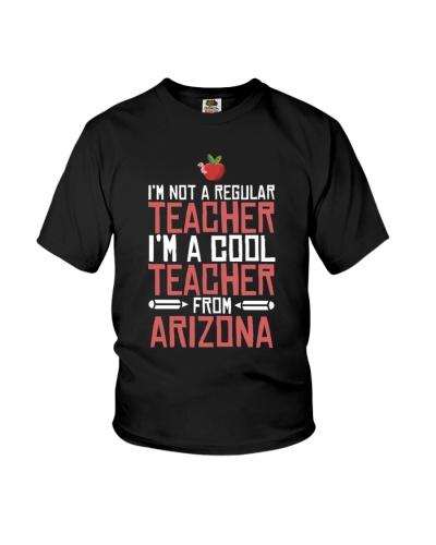 Arizona Cool Teacher Funny Shirt