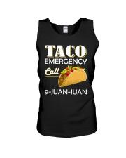 Emergency Call 9 Juan Juan Tee Shirt Unisex Tank thumbnail