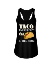 Emergency Call 9 Juan Juan Tee Shirt Ladies Flowy Tank thumbnail