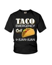Emergency Call 9 Juan Juan Tee Shirt Youth T-Shirt thumbnail