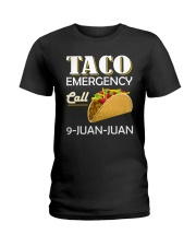 Emergency Call 9 Juan Juan Tee Shirt Ladies T-Shirt thumbnail