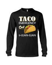 Emergency Call 9 Juan Juan Tee Shirt Long Sleeve Tee thumbnail