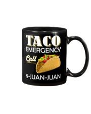 Emergency Call 9 Juan Juan Tee Shirt Mug thumbnail
