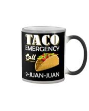 Emergency Call 9 Juan Juan Tee Shirt Color Changing Mug thumbnail