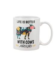 Life is Better With Cows Around Shirt Mug thumbnail