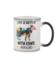 Life is Better With Cows Around Shirt Color Changing Mug thumbnail