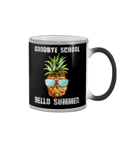 Goodbye School Hello Summer Gift Shirt