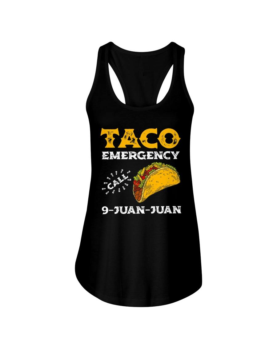 Taco Emergency Call 9 Juan Juan Shirt Ladies Flowy Tank
