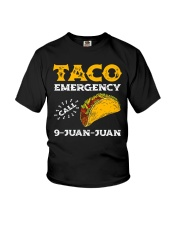 Taco Emergency Call 9 Juan Juan Shirt Youth T-Shirt tile