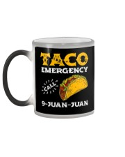 Taco Emergency Call 9 Juan Juan Shirt Color Changing Mug color-changing-left