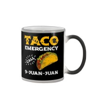Taco Emergency Call 9 Juan Juan Shirt Color Changing Mug tile