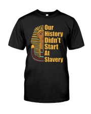 Woman Man Black History Month T-Shirt Classic T-Shirt thumbnail