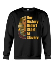 Woman Man Black History Month T-Shirt Crewneck Sweatshirt thumbnail