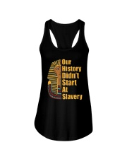 Woman Man Black History Month T-Shirt Ladies Flowy Tank thumbnail