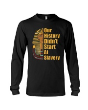 Woman Man Black History Month T-Shirt Long Sleeve Tee thumbnail