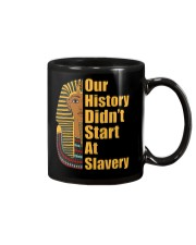 Woman Man Black History Month T-Shirt Mug thumbnail