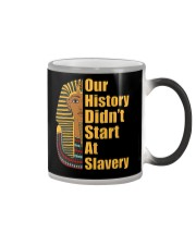 Woman Man Black History Month T-Shirt Color Changing Mug thumbnail