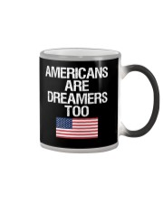 Americans Are Dreamers Unisex T-Shirt Color Changing Mug thumbnail