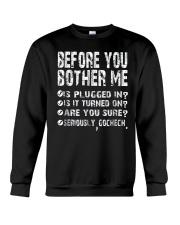 Computer Smartphone Questions Shirts Crewneck Sweatshirt thumbnail