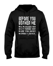 Computer Smartphone Questions Shirts Hooded Sweatshirt thumbnail
