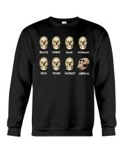 Black White Man Woman Rich T-Shirt Crewneck Sweatshirt thumbnail