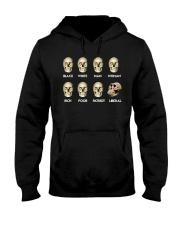 Black White Man Woman Rich T-Shirt Hooded Sweatshirt thumbnail