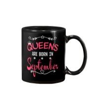 Queens Are Born In September Birthday T-shirt Mug thumbnail