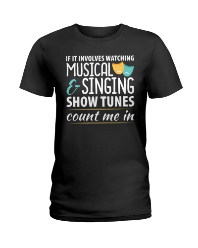 If It Involves Musical T-Shirt