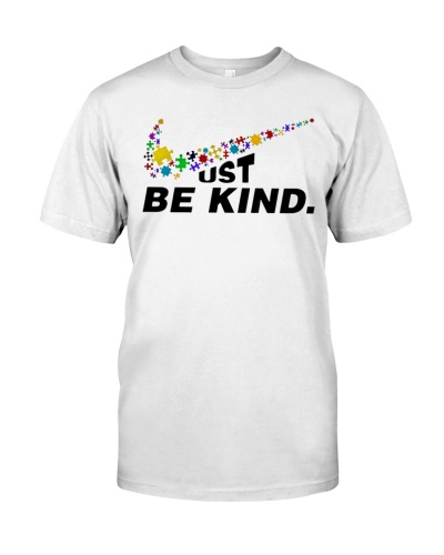 Just Be Kind Autism Shirt