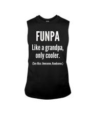 Funpa Grandpa Definition Unisex T-Shirt Sleeveless Tee thumbnail