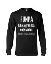 Funpa Grandpa Definition Unisex T-Shirt Long Sleeve Tee thumbnail