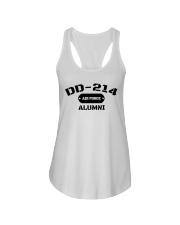 DD-214 US Air Force Alumni T-Shirt Ladies Flowy Tank thumbnail